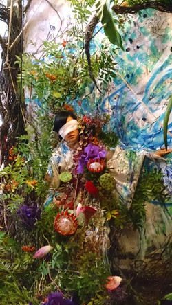 花と線と音 flower, drawing, music