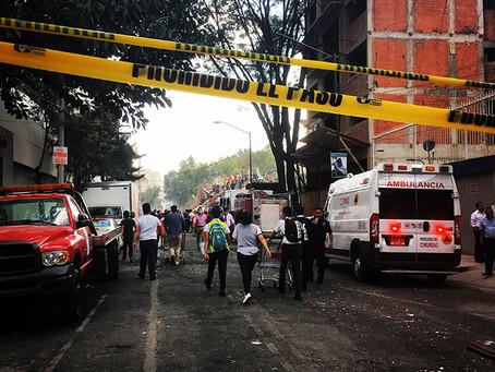 Clo's Next ViewPoint: Mexico City Earthquake. Sept 19th 2017.