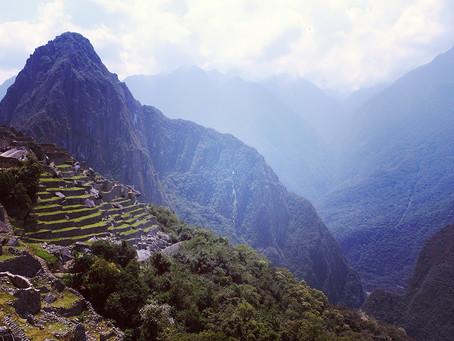 Clo's Next ViewPoint: Machu Picchu, Peru.
