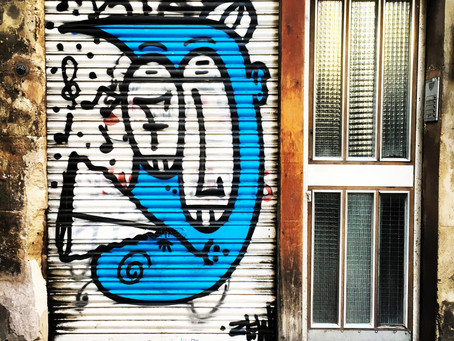Clo's Next ViewPoint: Street Art in Barcelona.