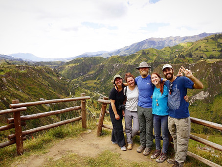 Clo's Next ViewPoint: The Quilotoa Loop in great company!