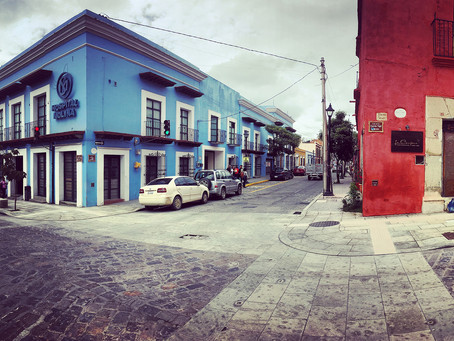 Clo's Next ViewPoint: Colorful panoramics in Oaxaca