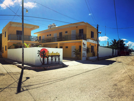 Clo's Next ViewPoint: Rio Lagartos Village, Mexico.