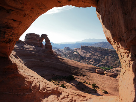 Clo's Next ViewPoint: Arches National Park, Utah, USA