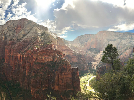 Clo's Next ViewPoint: Zion National Park, Utah, USA