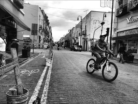 Clo's Next ViewPoint: The streets of Puebla