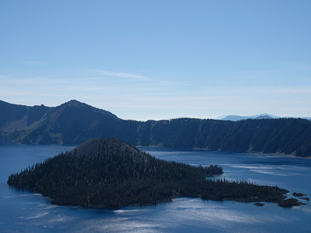 Clo's Next ViewPoint: Crater Lake NP, USA