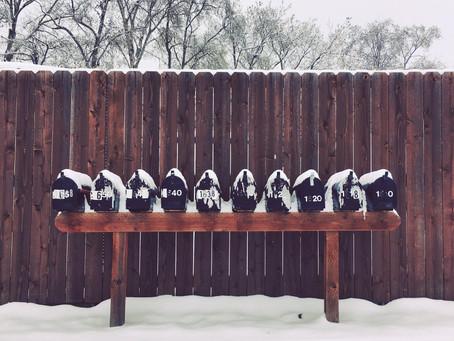 Clo's Next ViewPoint: Mail Box winter coats.