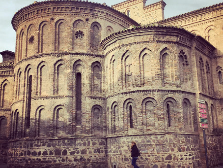 Clo's Next ViewPoint: Toledo, the old stone city.