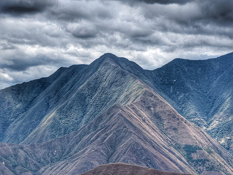 Clo's Next ViewPoint: Entering the Peruvian Andes, Peru.