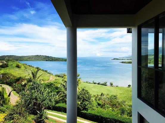 Fiji Villa view