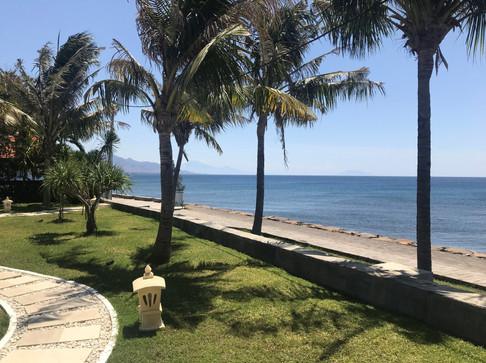 Villa beach front