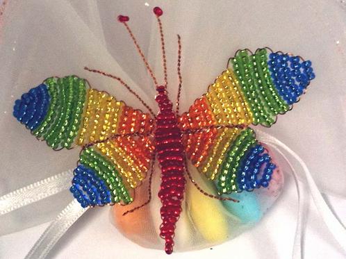Farfalle con perline