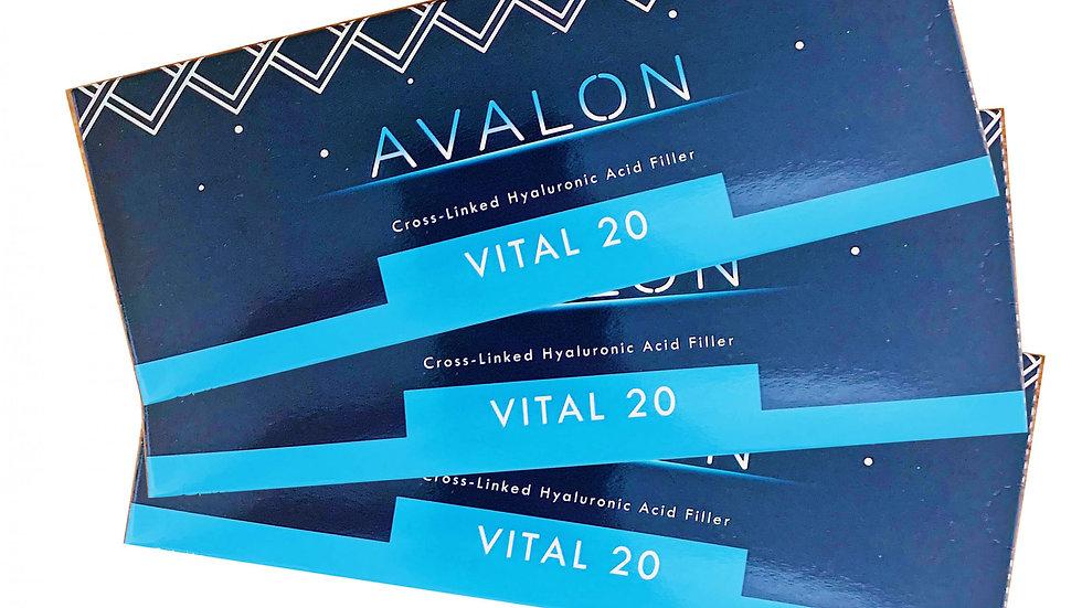 Triple Avalon Vital 20