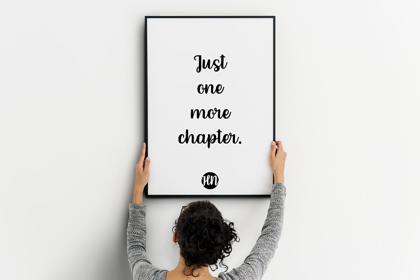 Just one more chapter.