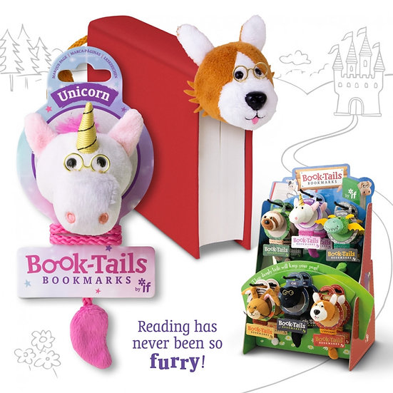 Book-Tails Bookmarks