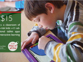 #25DaysOfGiving: Give the Gift of Interactive Learning