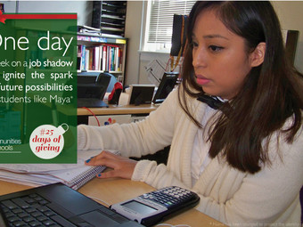 #25DaysOfGiving: Give the Gift of Job Experience