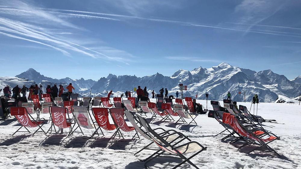 Face au Mont-Blanc, le temps s'arrête