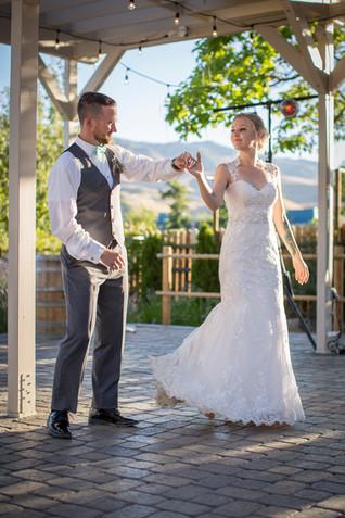 wedding venue outdoor dancefloor reno
