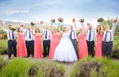Indoor outdoor wedding locations Lavender Ridge