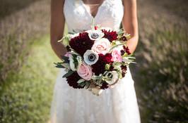 wedding on lavender farm reno