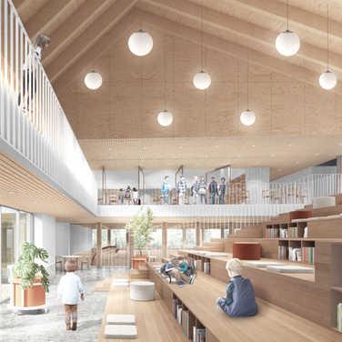 Concept lauréat - Lab-École Saguenay