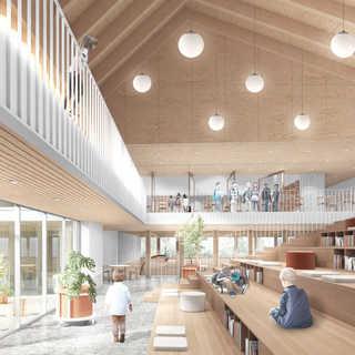 Concept finaliste - Lab-École Saguenay