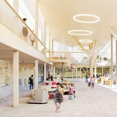 Concept finaliste - Lab-École Rimouski