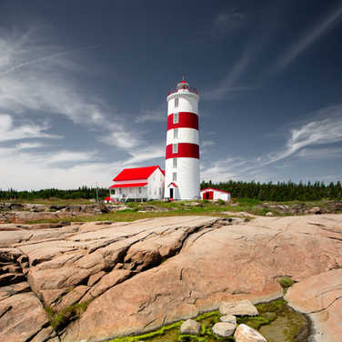 Phare Pointe-des-Monts