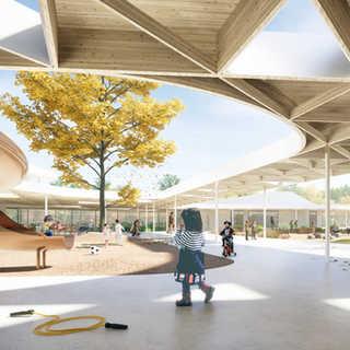 Concept finaliste - Lab-École Shefford
