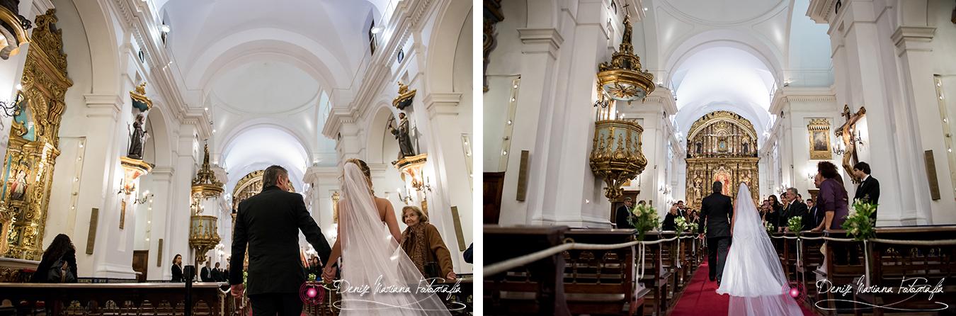 Casamiento Iglesia del Pilar Recolet