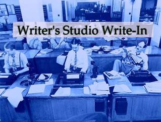 Writer's Studio Write-in