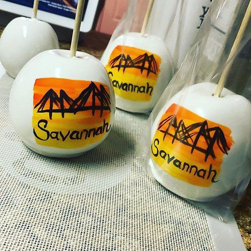 Handpainted Candy Apples