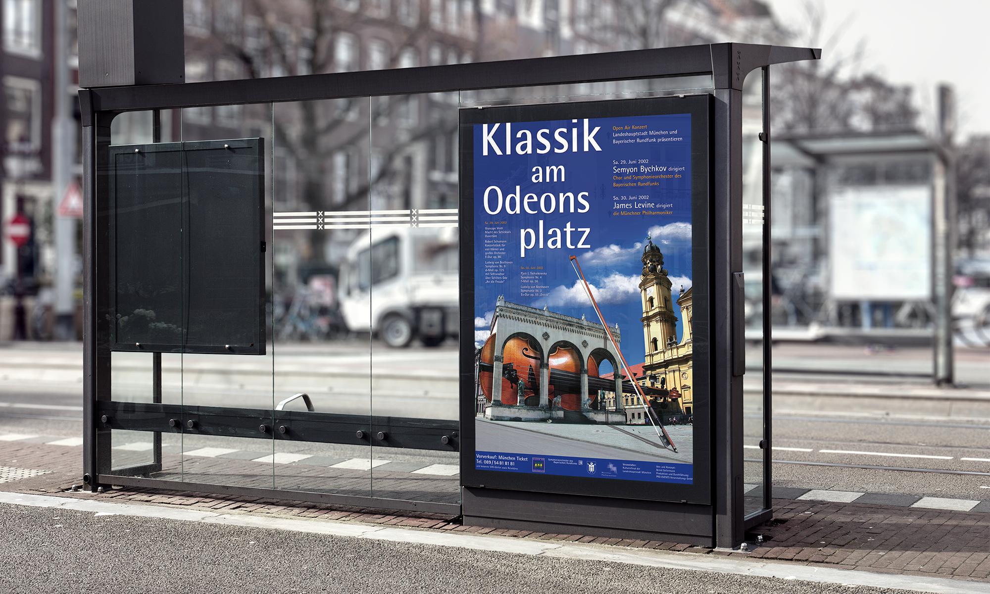 Werbung Klassik am Odeonsplatz