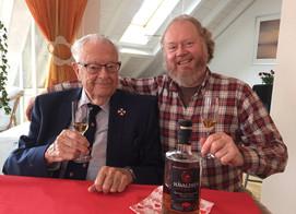 Celebrates his father's 100th birthday