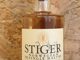 Our first STIGER Single Malt for sale from 01.06.2021 in Norway  (80 bottles).