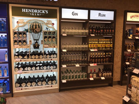 KIMERUD Wild Grade Gin on the shelf in Sydney Airport, Duty Free