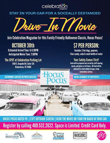 Events for Seniors in Dallas, Texas   Drive-In Movie for Seniors   Celebration Senior Magazine