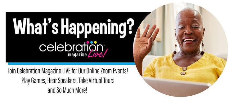 Online Events for Seniors | Zoom Events for Seniors | Celebration Senior Magazine