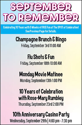 Celebration Senior Magazine | Events for Seniors in Dallas, Texas | www.celebrationmagazine.com
