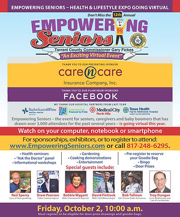 Empowering Seniors DFW | Celebration Senior Magazine | www.celebrationmagazine.com
