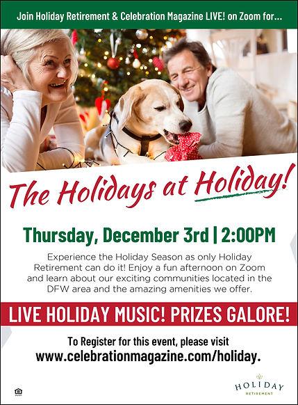 Online Events for Seniors | Holiday Retirement Living | Celebration Senior Magazine