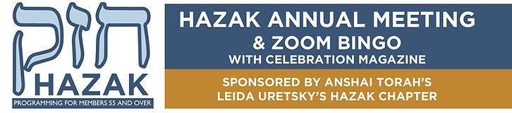Anshai Torah HAZAK | Bingo for Seniors on Zoom | Celebration Senior Magazine | www.celebrationmagazine.com
