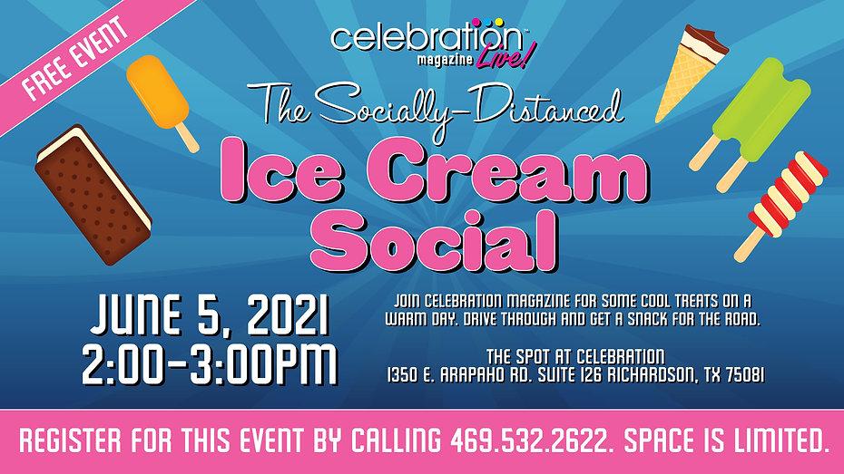 Events for Seniors in Dallas, Texas | Ice Cream Social Seniors | Celebration Senior Magazine