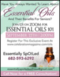 Essential Oils for Seniors | Online Events for Seniors | Essentially SpOILed