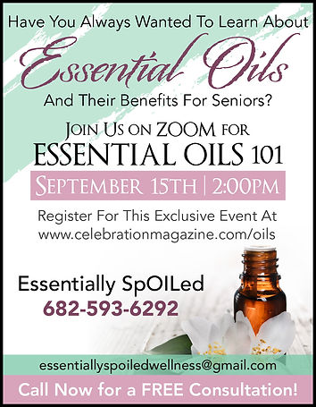Essential Oils for Seniors | Online Events for Seniors | Essentially SpOILed