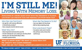 Celebration Senior Magazine | University of Florida Life Story Lab |  Events and Activities for Seniors in Dallas, Texas