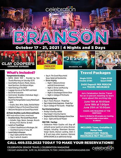 Senior Group Travel from Dallas, Texas | Celebration Magazine | Celebration Senior Travel