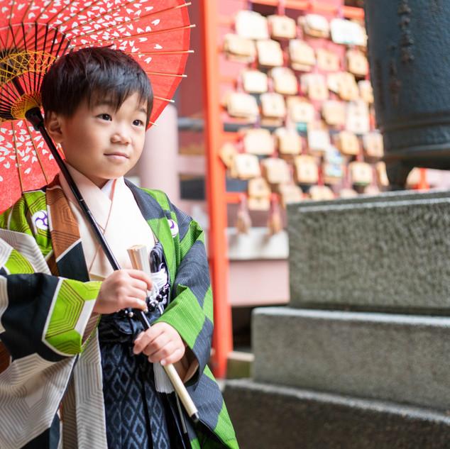 川口蕨の前川神社写真館で神社写真
